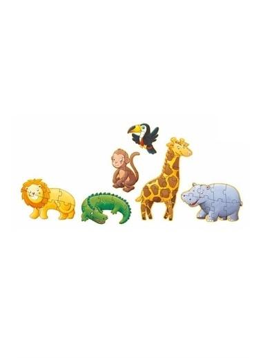 Djeco Djeco Dev Puzzle 38 Parça/ Marmoset & Friends Pembe